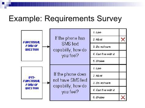 customer survey template kano model