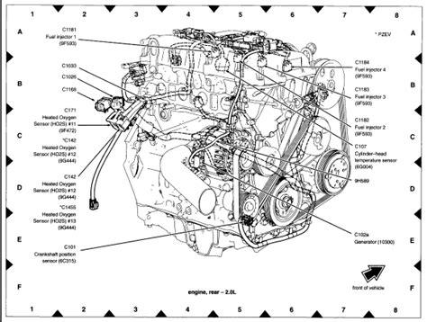 2002 ford focus engine diagram 2003 ford focus engine diagram