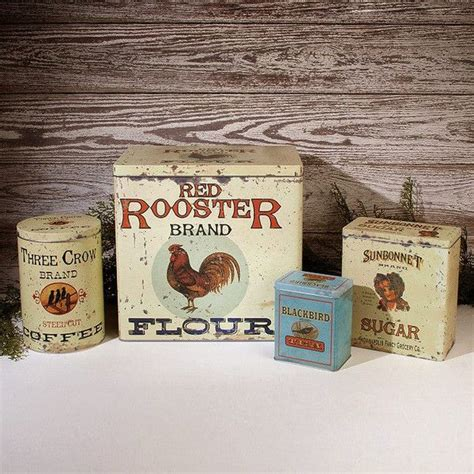 rooster canisters kitchen products 1000 ideas about tea and coffee canisters on