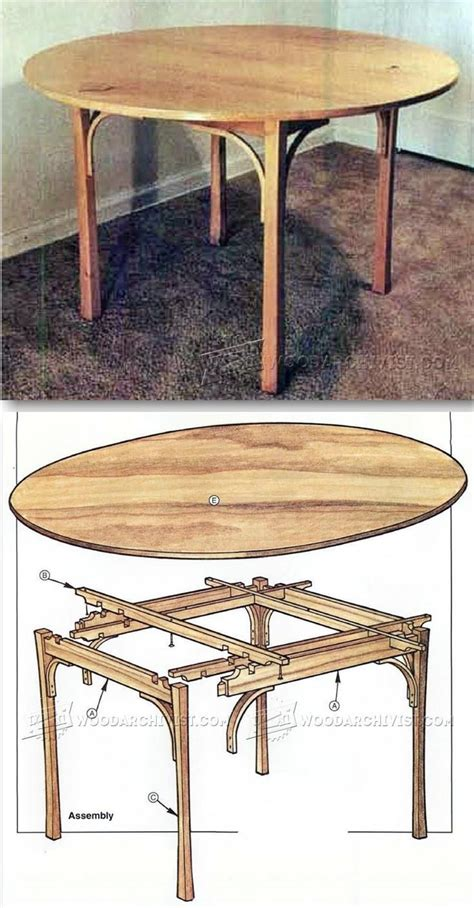 Easy Dining Table Plans Simple Dining Table Plans Furniture Plans And Projects Woodarchivist Furniture Plans