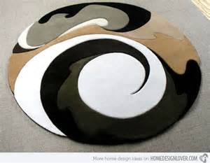 Modern Circular Rugs 15 Geometrical And Artisitc Modern Area Rugs Home Design Lover