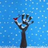Finger painting winter tree follow for free quot too neat not to keep