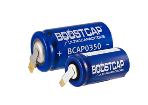 ultracapacitor news new 125 volt boostcap ultracapacitor introduced by maxwell technologies