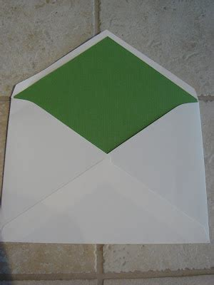 how to make your own envelope liners celebrations blog now you just need to get a nice crease so that it all