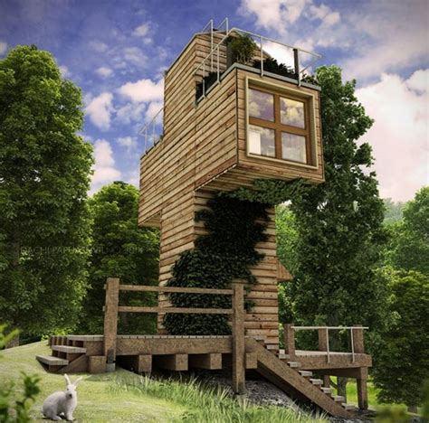 spiritual cross shaped grid tiny cabin design