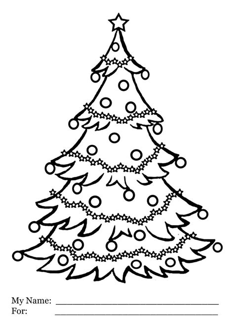 printable christmas tree for kids 1000 images about holidays coloring pages for on coloring pages for