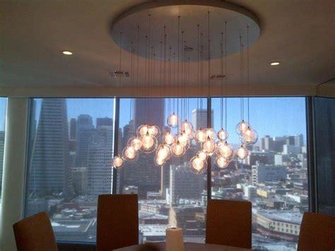 Modern Glass Dining Room Chandeliers Kadur Custom Blown Glass Chandelier Modern Custom Light