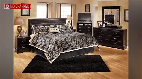 black bedroom furniture decorating ideas youtube