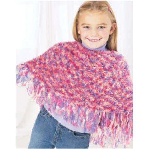 Free Child S Poncho Knit Pattern Loom Knitting
