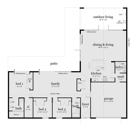 Floor Plans For 3 Bedroom Ranch Homes 100 floor plans for 3 bedroom ranch homes 2 bedroom