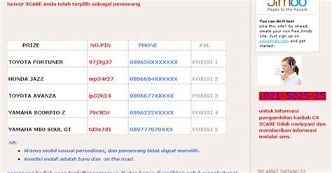 Terbaru Hati Hati Penipuan hati hati situs penipuan mengatasnamakan tri indonesia info seluler dan mobile