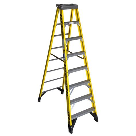 cosco signature series 8 ft premium aluminum step ladder