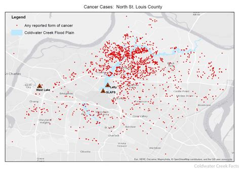 coldwater creek map 2015 health maps coldwater creek facts