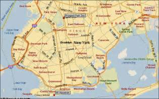 Brooklyn New York Map by Brooklyn New York City Attractions Map Find The Nyc