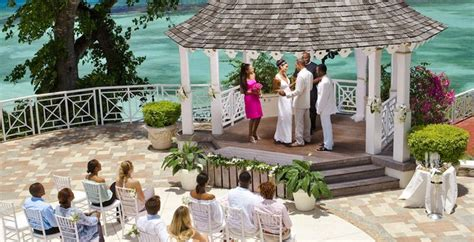 best wedding locations in the caribbean 2 this enchanting gazebo at sandals royal plantation offers spectacular vistas and plenty of