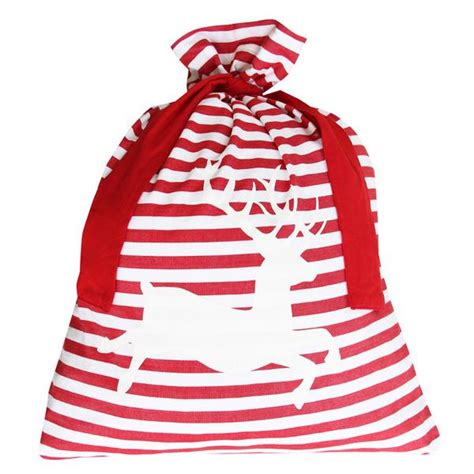 red santa sack for babies pictures classic stripe santa sack deer cabin co