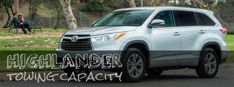 Toyota Highlander Hybrid Towing Capacity 2016 Toyota Highlander Towing Capacity Hesser Toyota