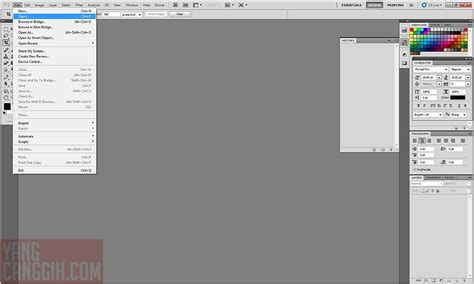 tutorial dasar penggunaan photoshop tutorial cara mengubah ukuran gambar di photoshop