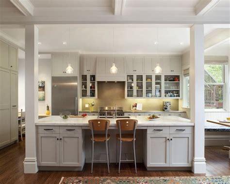 Kitchen Islands With Posts 17 best ideas about galley kitchen remodel on pinterest
