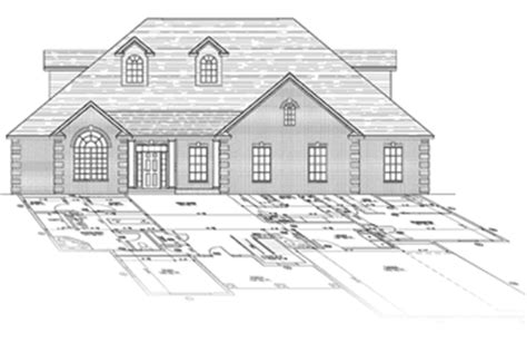custom home design drafting architectural building