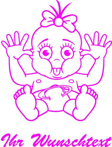 Baby Aufkleber Drucken by Baby Aufkleber M 228 Dchen Beschriftung Druck