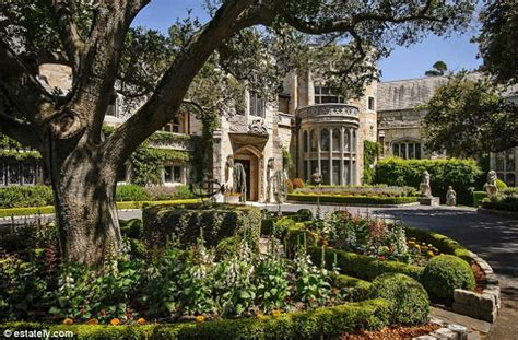 buy house in california usa want to live like a king the american castle homes you can buy daily mail online