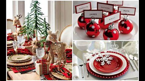 christmas dinner table setup 2016 christmas holiday dinner table setting ideas youtube