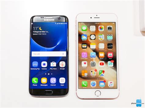 iphone   outperforms galaxy  edge  app test