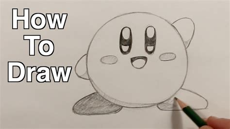 how to make easy doodle how to draw kirby easy drawing tutorial for