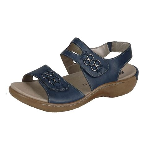 comfortable navy remonte sandals cinderella shoes