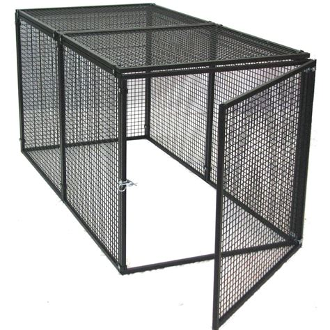 outdoor kennels shop options plus 6 ft x 3 ft x 3 ft outdoor kennel box kit at lowes