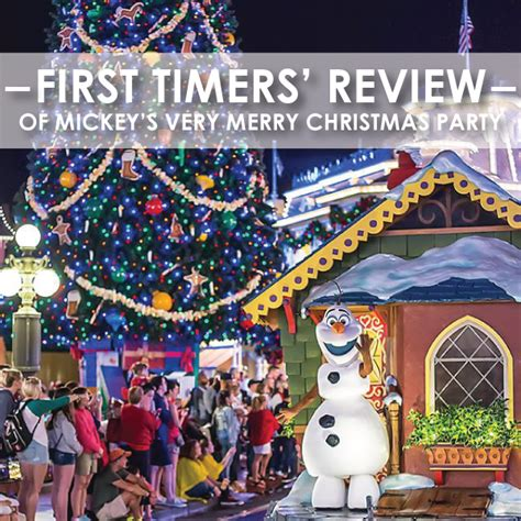 mickey s very merry christmas party first timer reviews