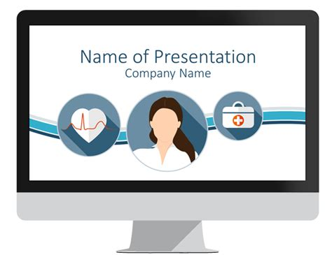 powerpoint presentation templates for hospitals healthcare powerpoint template presentationdeck com