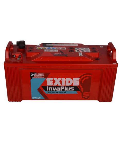 Exide Ceil Tubular Battery by Exide 150 Inva Plus Ipt 1500 150ah Battery Ah Battery