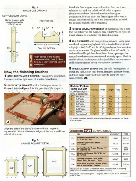 picture frame woodworking plans mix and match picture frame plans woodarchivist
