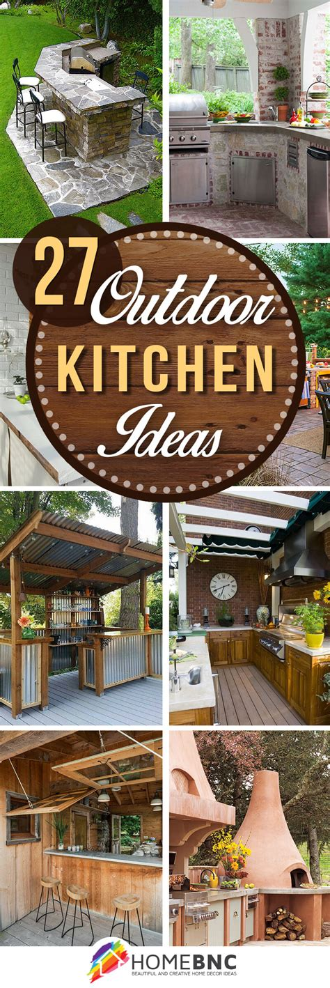 Designing Outdoor Kitchen 27 Best Outdoor Kitchen Ideas And Designs For 2018