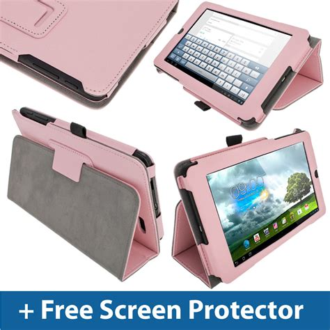 Tablet Android Asus Memo Pad Me172v pink leather for asus memo pad me172v 7 quot 3g android tablet cover holder ebay