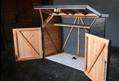 Wooden Bike Storage Shed by Bike Sheds Pinteres