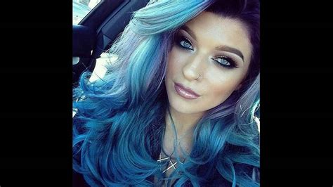 permanent blue hair color blue dye for hair find your hair style
