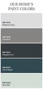 sherwin williams color palette the 25 best ideas about sherwin williams color palette on