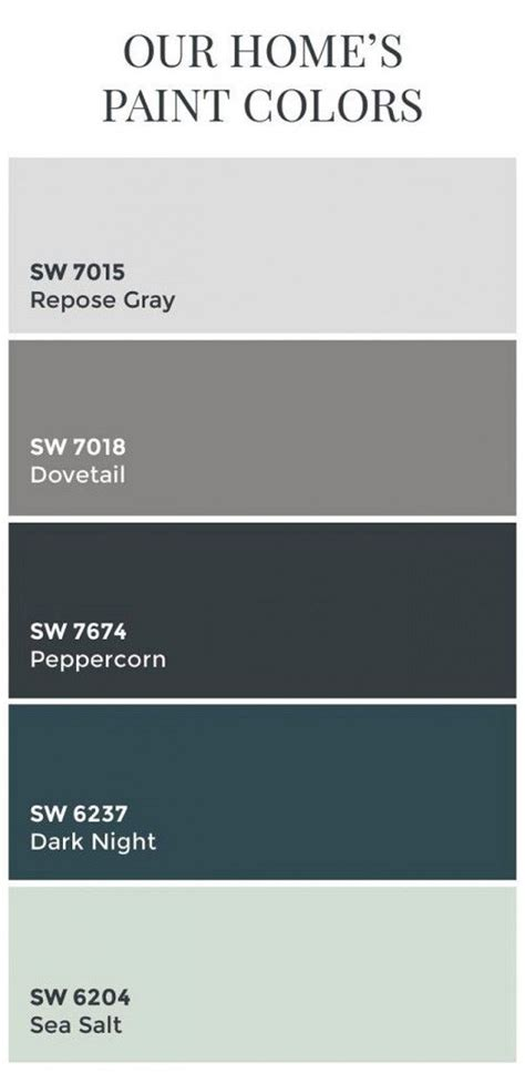 sherwin williams color schemes best 25 grey color schemes ideas on grey
