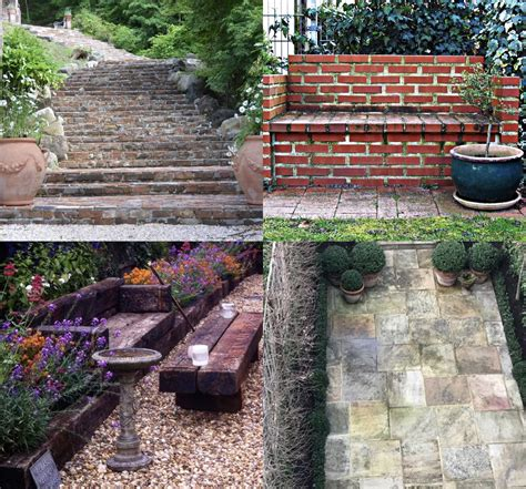 reclaimed brick garden walls garden ftempo