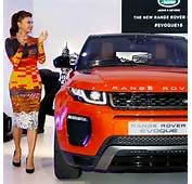 Jacqueline Fernandez At Range Rover's New Car Launch