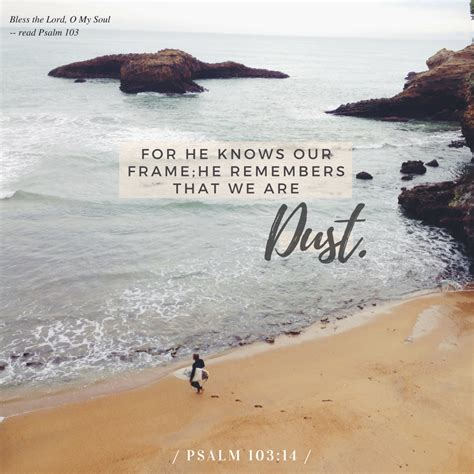Psalm 103 14 Nkjv For He Knows Our Frame He | Www.123paintcolor.download
