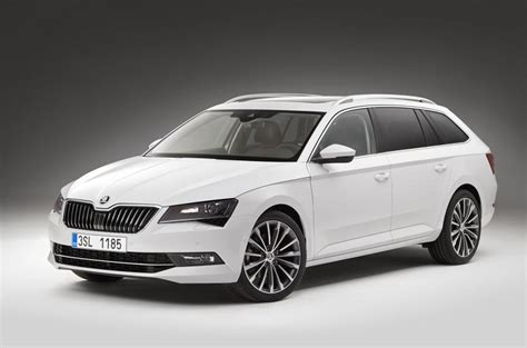 2015 skoda superb estate official prices pics and