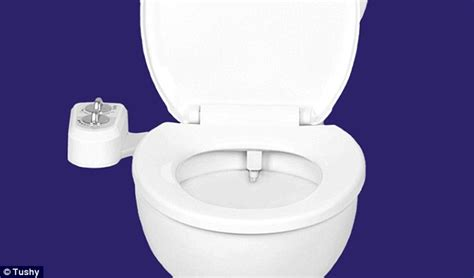 Bidet Montreal clip on bidet could spell the end of barbaric wiping with toilet roll daily mail