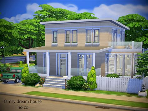 my dreamhouse the sims 4 house building w flubs s family dream house nocc