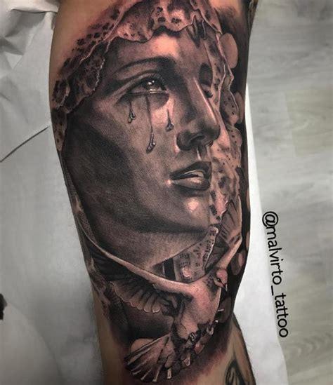 virgen maria tattoos imagen virgen