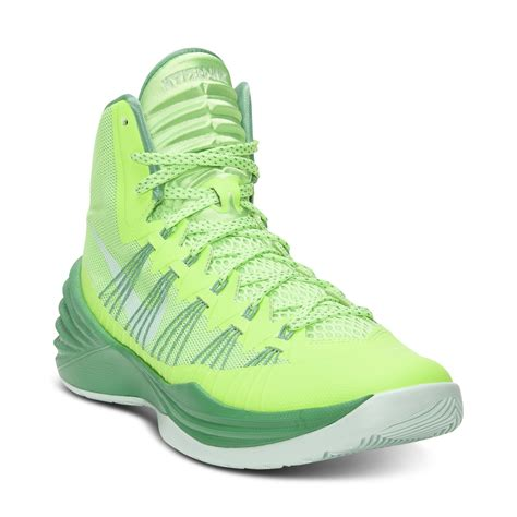 hyperdunk sneakers nike hyperdunk basketball sneakers in green for flash