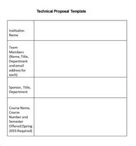 Technical Template by Technical Templates 13 Free Sle Exle